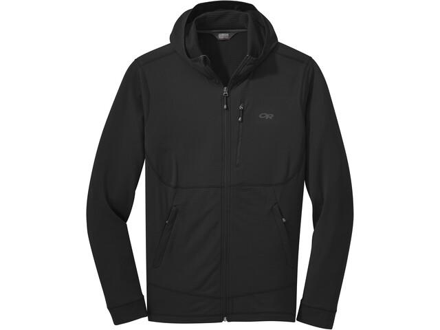 Outdoor Research Vigor Veste à capuche zippée Homme, black